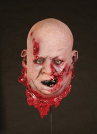 Fat Zombie Head Halloween Prop