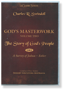 God's Masterwork, Vol 2: The Story of God's People - A Survey of Joshua-Esther.  11 CD Series