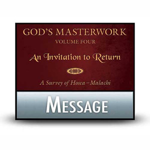 God's Masterwork Vol 4:  04  Obadiah - Strong Warning to the Proud.  MP3 Download