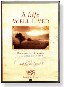 A Life Well Lived: Discover the Rewards of an Obedient Heart.    DVD