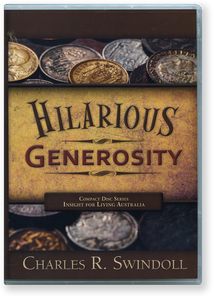 Hilarious Generosity.   5 Message Series