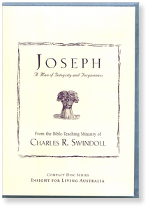 Joseph: A Man of Integrity and Forgiveness.  12 CD Series