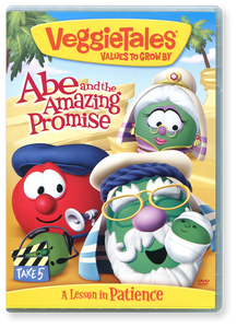 Veggie Tales: Abe and the Amazing Promise.  DVD