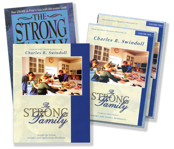 The Strong Family Set.  CD Series, Paperback Book & Workbook
