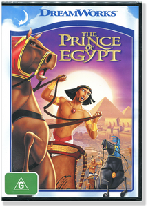 The Prince of Egypt. DVD