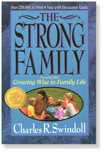 The Strong Family.  Paperback Book