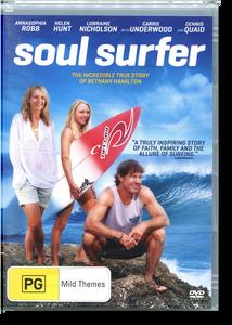Soul Surfer.  DVD