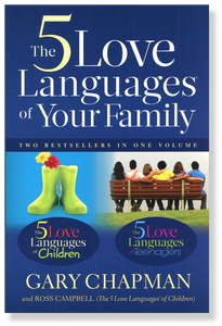 5 Love Languages of Your Family.  Paperback Book