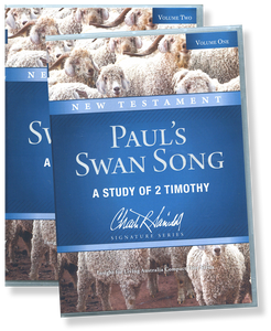 Paul's Swan Song: A Study of 2 Timothy.  14 CD Series