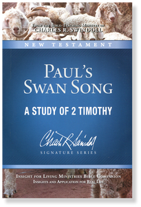 Paul's Swan Song.  Bible Companion  Paperback Book