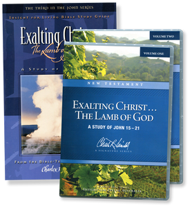 Exalting Christ ... The Lamb of God.  16 CD Series & Study Guide