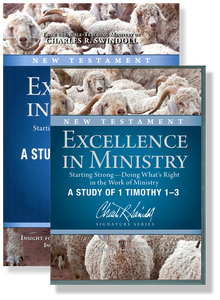Excellence in Ministry, Starting Strong:  Doing What's Right in the Work of Ministry - A Study in 1 Timothy 1-3.  10 CD Series & Bible Companion