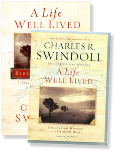 A Life Well Lived.  4 CD Series & Bible Companion