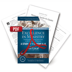 Excellence in Ministry: Finishing Well - Doing What's Best in the Challenges of Ministry Digital Bible Companion.   PDF Download