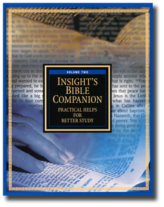 Insight's Bible Companion, Vol. 2.  Practical Helps for Better Study.  Paperback Book