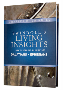 Swindoll's Living Insights NT Commentary: Galatians & Ephesians.  Hardback Book