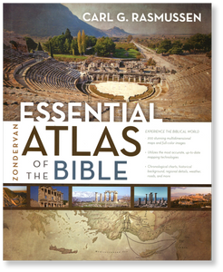 Zondervan Essential Atlas of the Bible.  Paperback book
