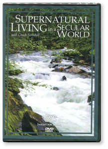 Supernatural Living in a Secular World.  2 DVD Series