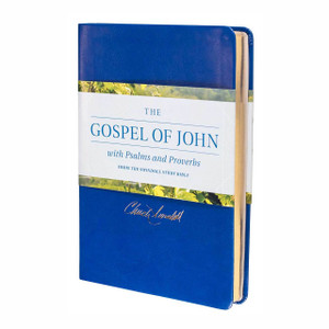 The Gospel of John With Psalms and Proverbs from the Swindoll Study Bible.