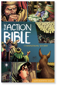 The Action Bible Christmas Story.  Booklet