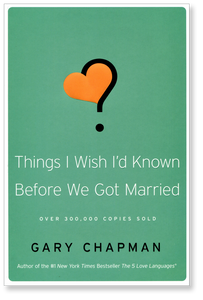 Things I Wish I'd Known Before We Got Married.  Paperback Book