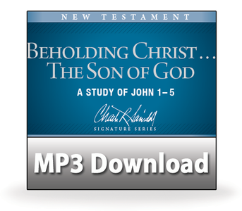 Beholding Christ ... The Son of God.  05  Wine ... Coins ... and Signs.   MP3 Download