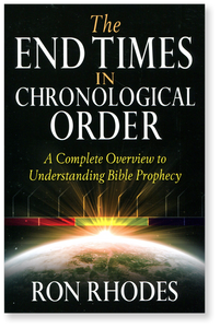 The End Times in Chronological Order.  Paperback Book