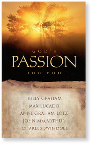God's Passion for You.  Paperback Book
