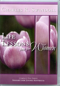 Life Lessons Just for Women.  4 CD Series