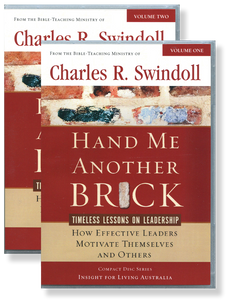 Hand Me Another Brick: Timeless Lessons on Leadership.  16 CD Series