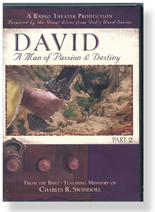 David: A Man of Passion & Destiny, Part 2 Radio Theatre Production.  2 CD Series