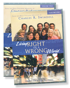 Living Right in a Wrong World.   16 CD Series