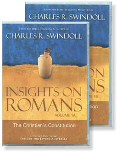 Insights on Romans: The Christian's Constitution Vol 1.  22 CD Series