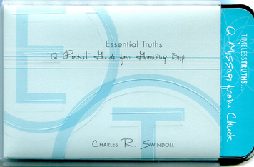 Essential Truths - A Pocket Guide for Growing Deep.  Card Set