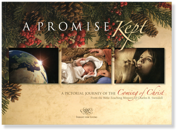 A Promise Kept: A Pictorial Journey of the Coming of Christ.  Paperback Book