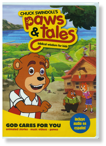 Paws & Tales Volume 1: God Cares for You.  DVD