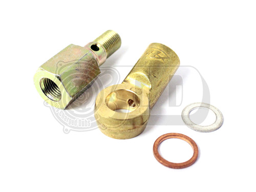 Oil Feed Pipe & Sensor T-Piece Adapter - G60/G40