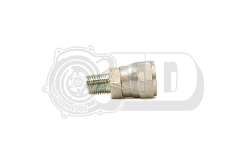 """Threaded Fitting - AN8 Female to 1/4"""" Male NPT OB2 Compressor Adapter"""