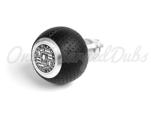 VW/Audi BFI Heavy Weight Shift Knob - Full Billet Machined/Air Leather