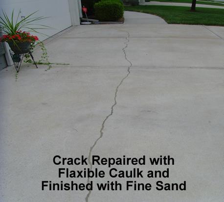 Crack Repaired
