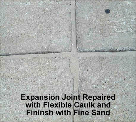 Expansion Joint Repaired