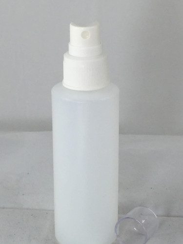 4oz Spray Bottle with clear cap