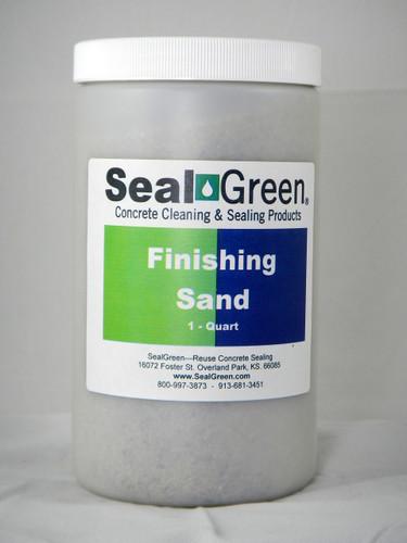 Finishing Sand