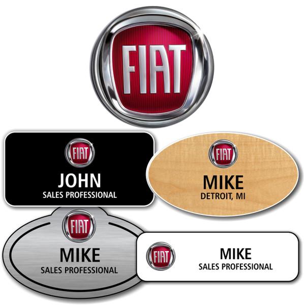 Fiat Name Badges