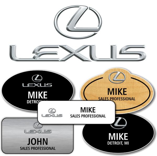 Lexus Name Badges