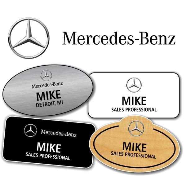 Mercedes-Benz Name Badges