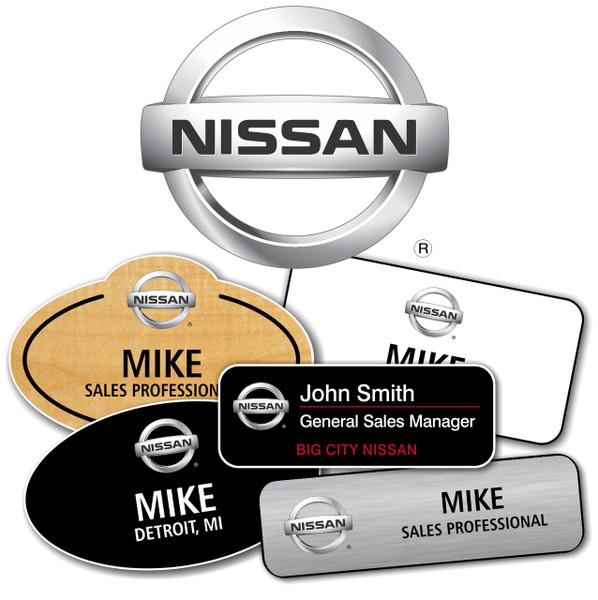 Nissan Name Badges