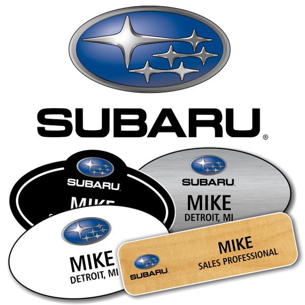 Subaru Name Badges
