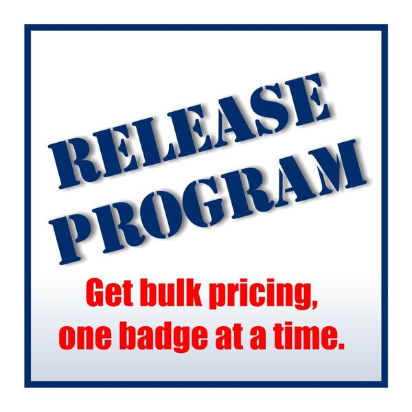 Name Badge Release Fee