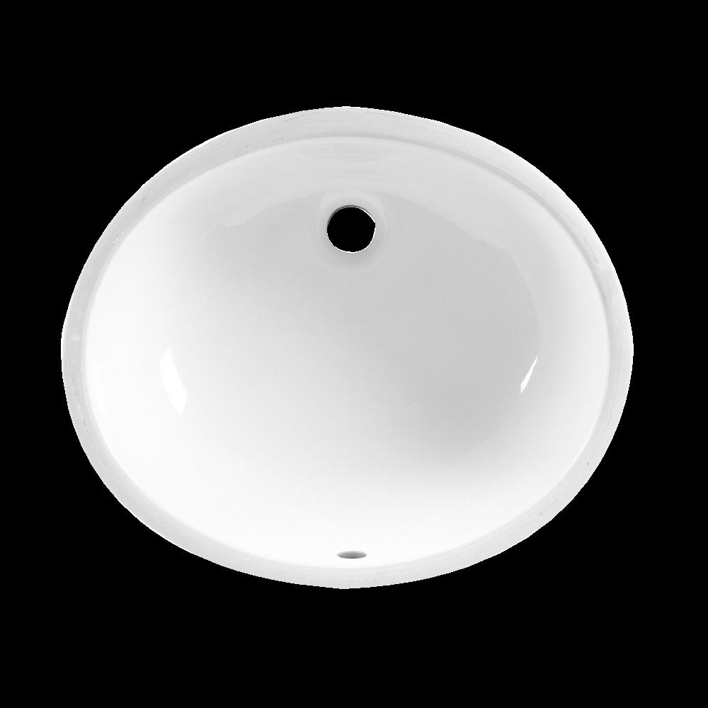 American Standard Ovalyn Undermount Lavatory Sink in White 08AMS ...